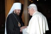 Hilarion metropolita és XVI. Benedek pápa