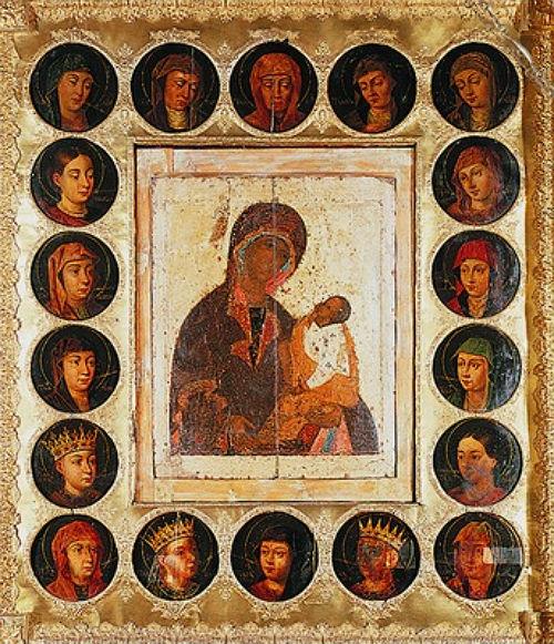 """Az Istenszülő """"Sujszkaja-Szmolenszkaja"""" ikonja"""