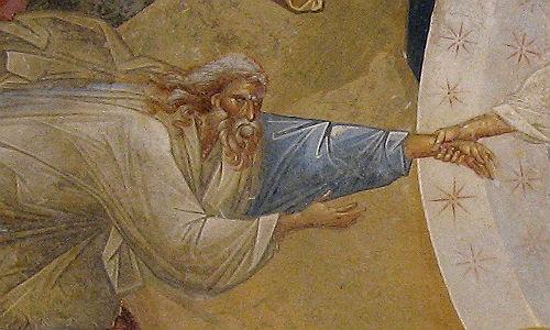 Ádám ősatya, Khora monostor, 14. sz.