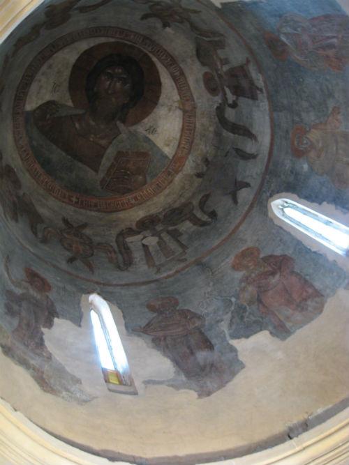 Görög Feofán. Novgorod, Iljin utcai Színeváltozás templom. 1378.