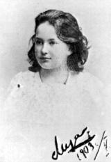 Jelizaveta Pilenko, 11 évesen