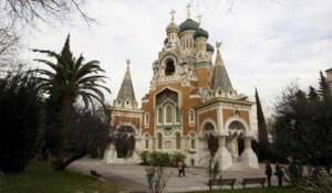 A helyi emigráns orosz egyházközségtől elperelt nizzai székesegyház
