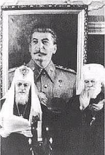 I. Alekszij patriarcha és Nyikoláj (Jarusevics) metropolita