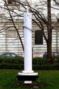 Holodomor emlékmű a budapesti Petőfi téren