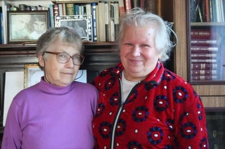 Legutolsó, 2013. szeptemberi látogatása során Natália Gorbanyevszkaja Pszkovban felkereste a meggyilkolt Pavel Adelheim atya özvegyét