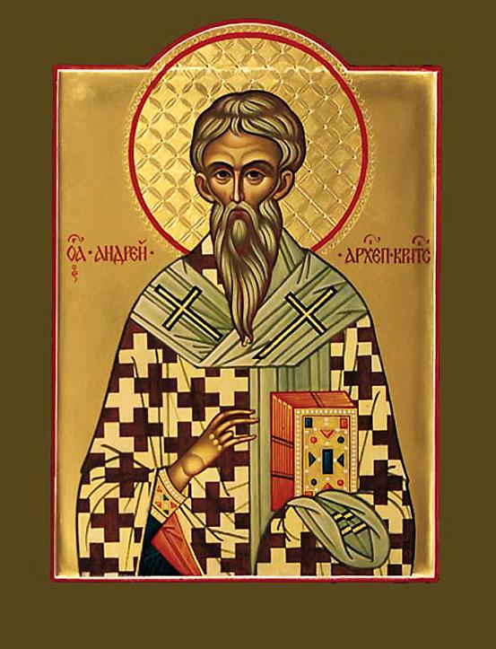 Kretai Szent Andras IKON