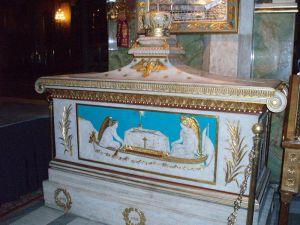 Szent Gergely patriarcha sírja az athéni Örömhírvétel székesegyházban