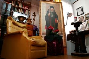 Szent János püspök szobája a Doni Szent Tyihon gyermekotthonban.