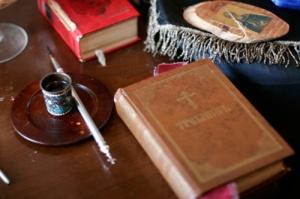 A cellában Szent János püspök személyes tárgyai láthatók-