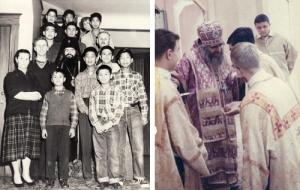 Szent János körül mindig sok gyerek és fiatal volt, akiket nagyon szeretett és gondoskodással vette körül őket. A bal oldali fényképen:  a Szent Tyihon árvaház és szegényház gyerekei között; jobbra a san francisco-i székesegyházban oltárszolgálatot ellátó fiatalok között.