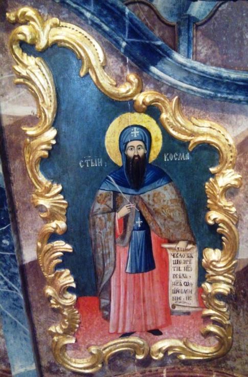 Énekszerző Kozma szerzetes
