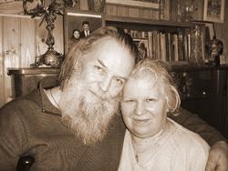 Pavel Adelheim atya és felesége, Vera